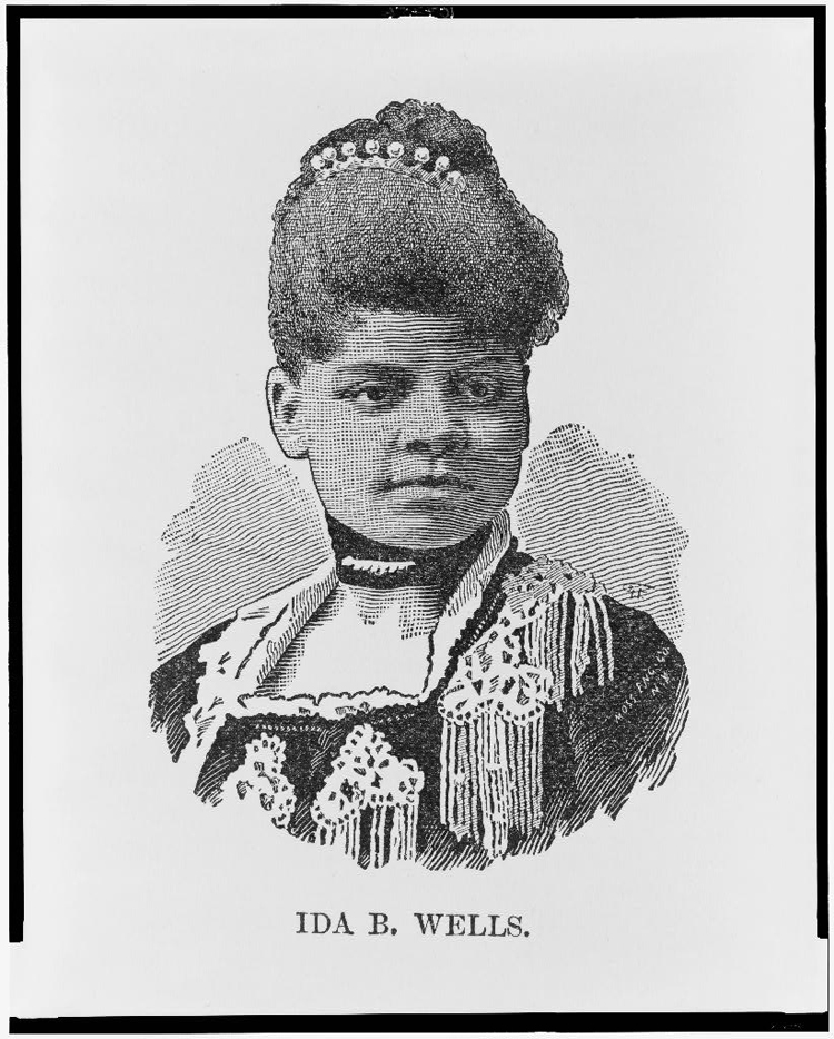 ida b wells Ida b wells-barnett officially got her downtown street honor wednesday, as mayor rahm emanuel and aldermen rallied behind renaming congress parkway east of the byrne interchange for the african.