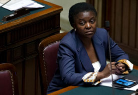 Minister Cécil Kyenge