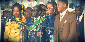 Mugabe inauguration, August 22nd 2013