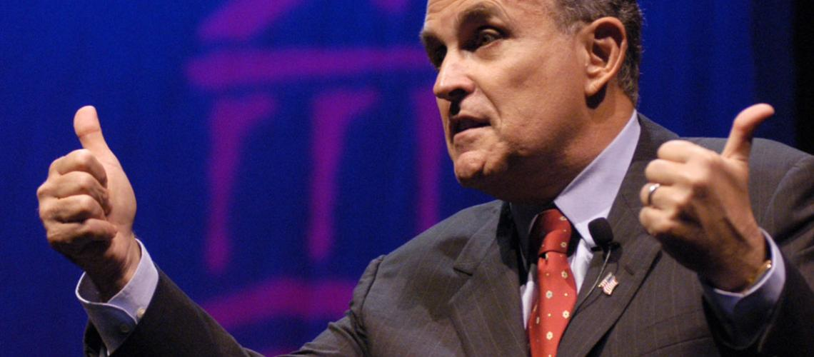 rudolph giulianis zero tolerance approach for reducing crime Giuliani's zero-tolerance approach essay new york city mayor rudy giuliani implemented a new crime reduced relentlessly over giuliani's eight years even.
